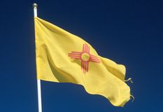 State Flag of New Mexico Royalty Free Stock Photos