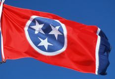 State Flag of Tennessee Royalty Free Stock Photo