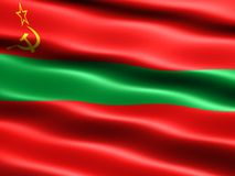 State flag of Transnistria Royalty Free Stock Photography