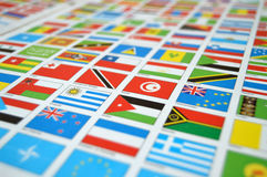 State flags, world,state flags, world Royalty Free Stock Photography