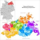 State of Germany - Mecklenburg-Vorpommern Stock Images