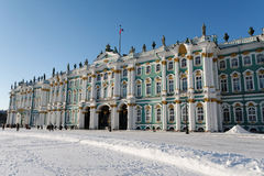 The State Hermitage Museum. Or Winter Palace in Saint Petersburg Royalty Free Stock Image