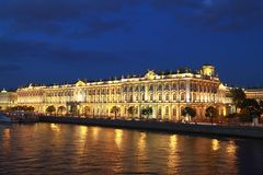 The State Hermitage Museum Royalty Free Stock Image