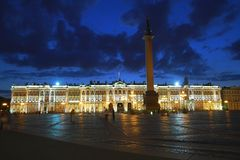 The State Hermitage Museum Stock Photography