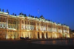 The State Hermitage Museum Royalty Free Stock Photography