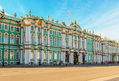 The State Hermitage Museum in Saint Petersburg Stock Photography