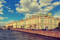 The State Hermitage Museum in Saint Petersburg Royalty Free Stock Photography