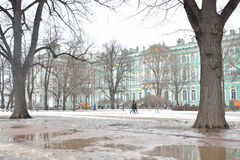 The State Hermitage Museum. Royalty Free Stock Photo