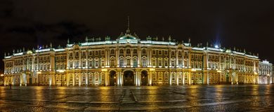 State Hermitage Museum, St. Petersburg. Russia Royalty Free Stock Image
