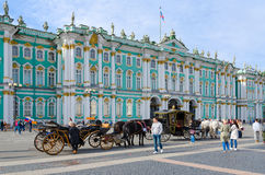 State Hermitage Winter Palace, St. Petersburg, Russia Royalty Free Stock Image