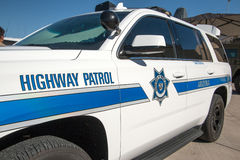 State Highway Police Patrol Vehicle Royalty Free Stock Image