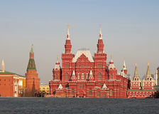 State Historical Museum, Moscow. The State Historical Museum of Russia is a museum of Russian history wedged between Red Square and Manege Square in Moscow Royalty Free Stock Image