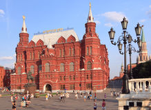 State Historical museum in Moscow, Russia Stock Photos