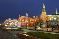 The State Historical Museum . Moscow Stock Photography