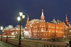 The State Historical Museum . Moscow Stock Photos