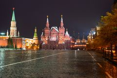 State Historical Museum, Red Square, Moscow, Russia Royalty Free Stock Photo