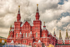 The State Historical Museum on Red Square, Moscow, Russia Royalty Free Stock Photography