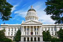 State House. The California Capitol State House in Sacramento, CA Stock Photos