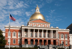 State House in Boston Stock Image