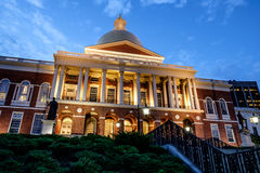 State house Boston Stock Photography