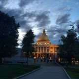 State house. Boston's amazing view Stock Photos