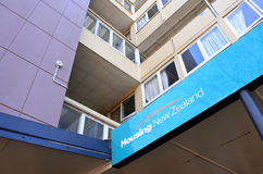 State Housing apartments in Auckland New Zealand. State Housing apartments in Auckland.For more than a century the state has provided rental homes for tens of Stock Photo