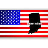 State of Indiana Stock Photography