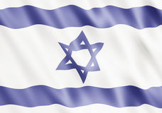 State of Israel Flag Stock Photo