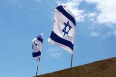 The State of Israel flag Royalty Free Stock Photo