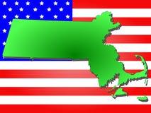State of Massachusetts Royalty Free Stock Image