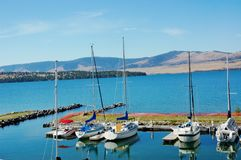 State montana marine yacht club Royalty Free Stock Photos