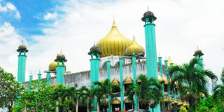 State Mosque or Kuching Mosque Royalty Free Stock Photo
