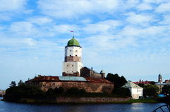 State Museum Vyborg Castle - the main museum of Vyborg. Royalty Free Stock Image