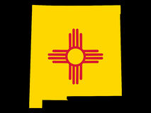 State of New Mexico Royalty Free Stock Image