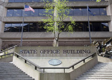 State Office Building. Front of the state office building in the United States Royalty Free Stock Photos
