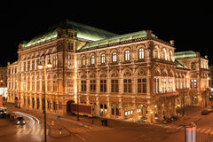 State Opera House, Vienna, Austria Stock Photography