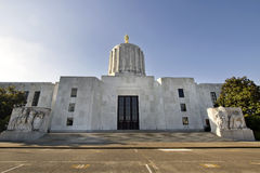 State of Oregon Capitol Building Stock Image