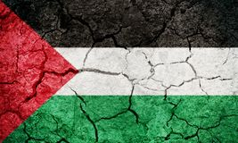 State of Palestine flag royalty free stock photography