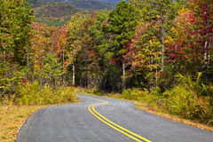 State Park Road Royalty Free Stock Images