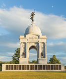 State of Pennsylvania Monument at Gettysburg Stock Images
