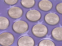 State Quarters Stock Photo
