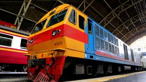State Railway of Thailand HITACHI 8FA-36C stock image