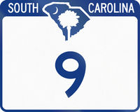 State Route Shield South Carolina Stock Photo