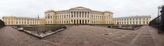 The State Russian Museum panorama Stock Photo
