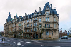 State Savings Bank in Luxembourg Stock Photography