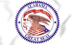 State Seal of Alabama, USA 1868-1939. Royalty Free Stock Image