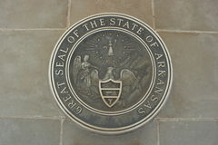 State seal of Arkansas Stock Images