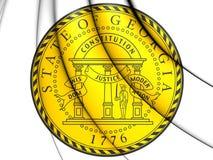 State Seal of Georgia, USA. Royalty Free Stock Photos