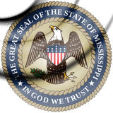 State Seal of Mississippi, USA. Royalty Free Stock Photos