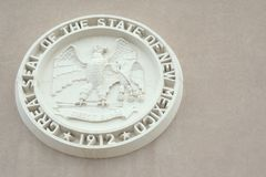 State Seal of New Mexico Royalty Free Stock Photography